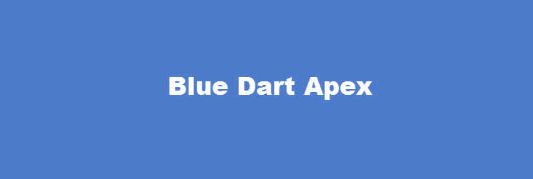 Blue Dart Apex