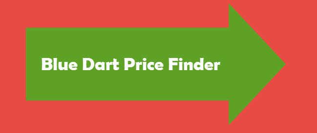 Blue Dart Price Finder