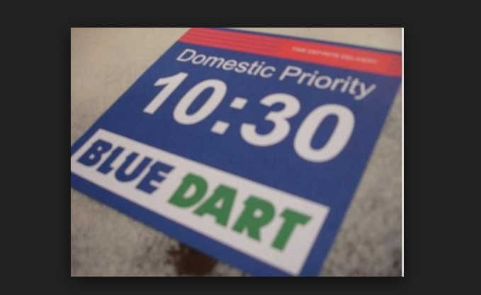 bluedart transit time